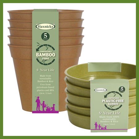 Pots fibre bambou