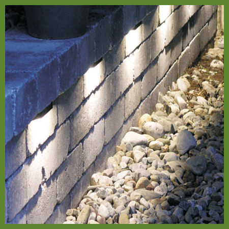 Luminaire a muret