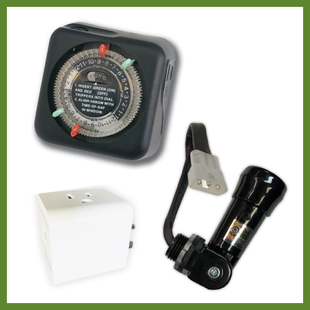 Minuterie,gradateur,photocell