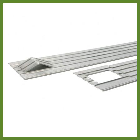 Bordure aluminium pelouse