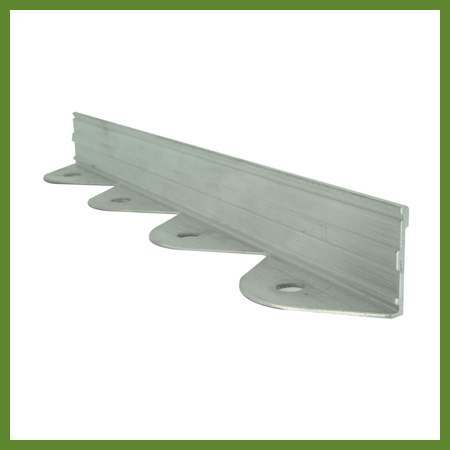 Bordure aluminium pave