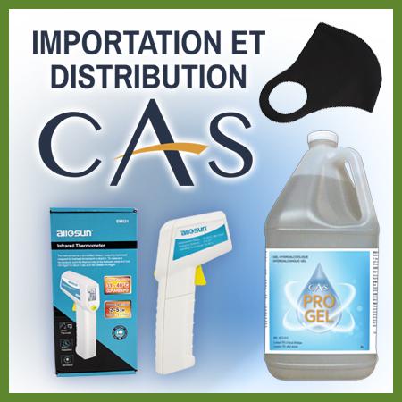 Distribution cas